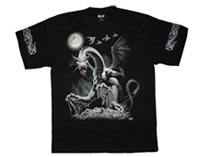 Dragon T-shirt (Glows in the dark)