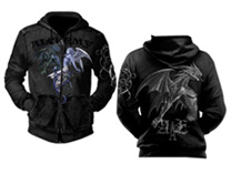 Chemical Attraction Alchemy Gothic Hoodie