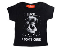 Luke I Dont Care - Baby T Shirt