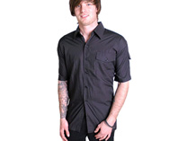 Mens Black Workshirt