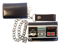 Nintendo - Controller Trifold Chain Wallet