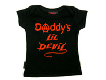 Baby T-shirt - Daddy's Lil' Devil