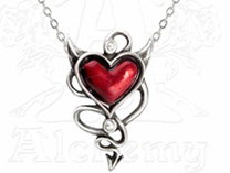 Devil Heart (necklace)