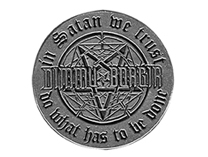 Dimmu Borgir belt buckle